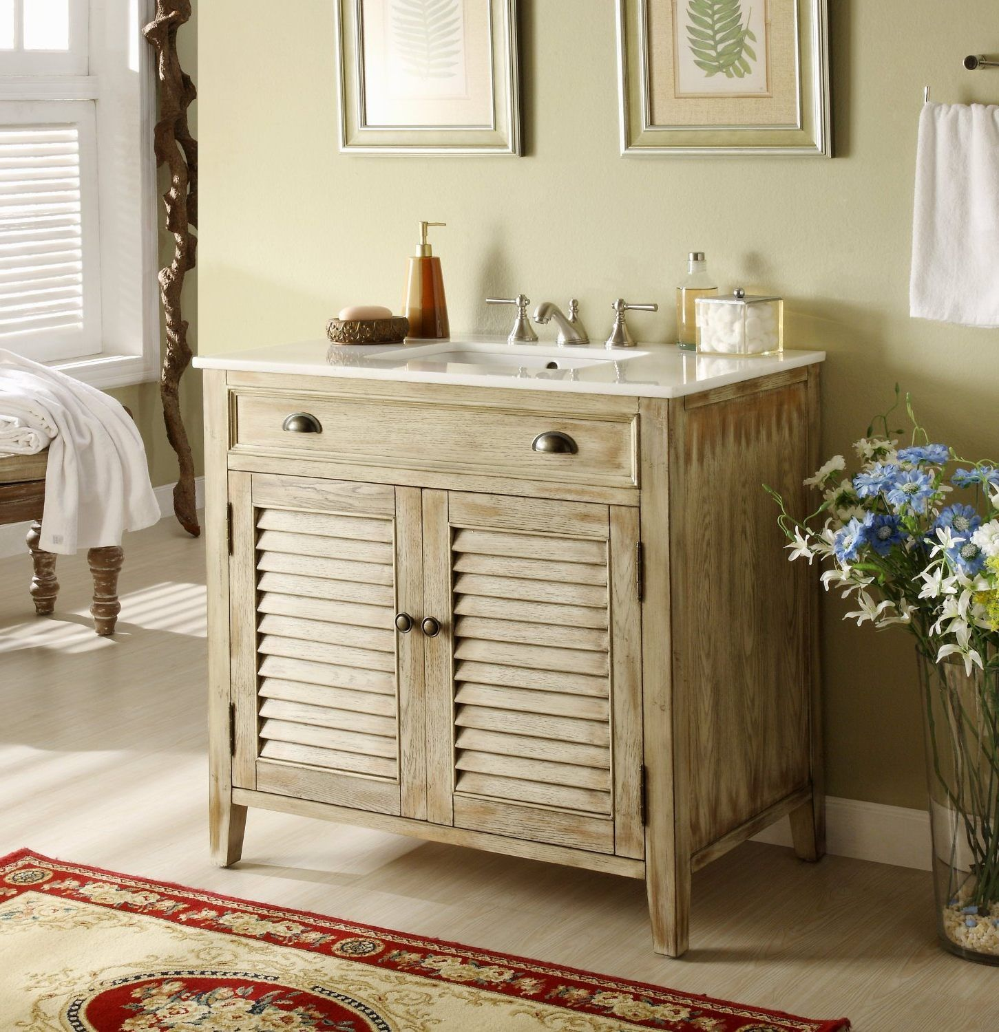 Rustic Bathroom Vanity for Bring A Touch of Texture to Your Bath ...