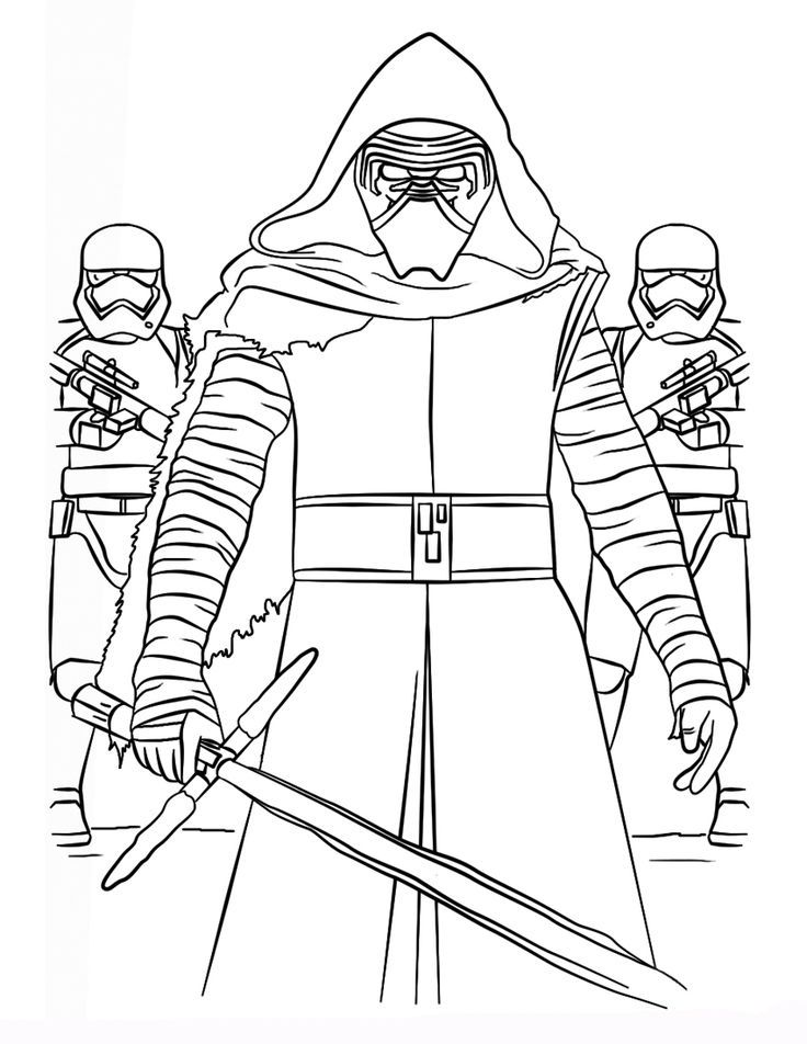 pin on coloriage star wars