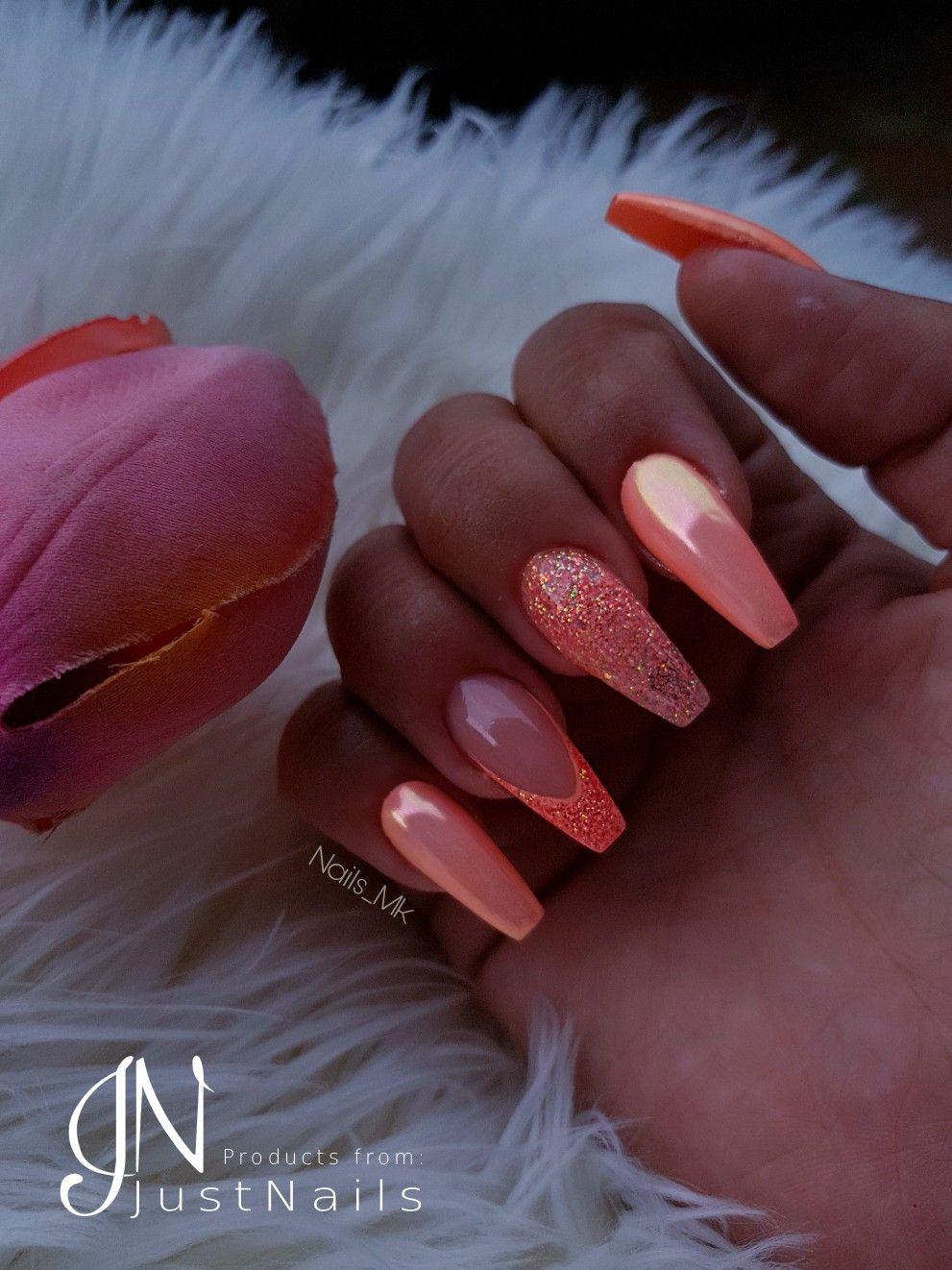 Summer Nails Sommer Nägel Aurora Nails