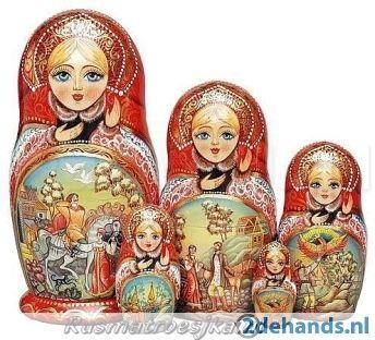 Matroesjka Baboesjka Russische poppetjes
