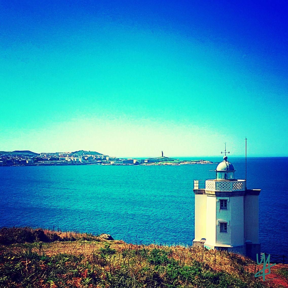 Oleiros.Galicia.Spain.Faro. Lighthouse