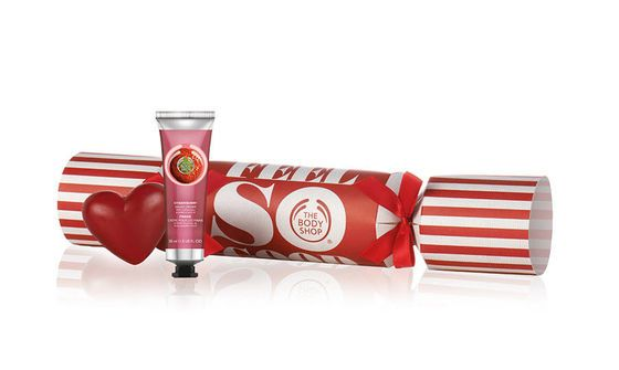 a fun take on the traditional christmas cracker the body shop festive crackers 7