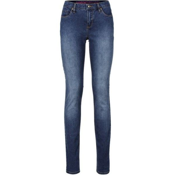 Jean super skinny (€1.999) via Polyvore featuring jeans, stone blue jeans, long skinny jeans, rainbow skinny jeans, long length jeans et skinny leg jeans