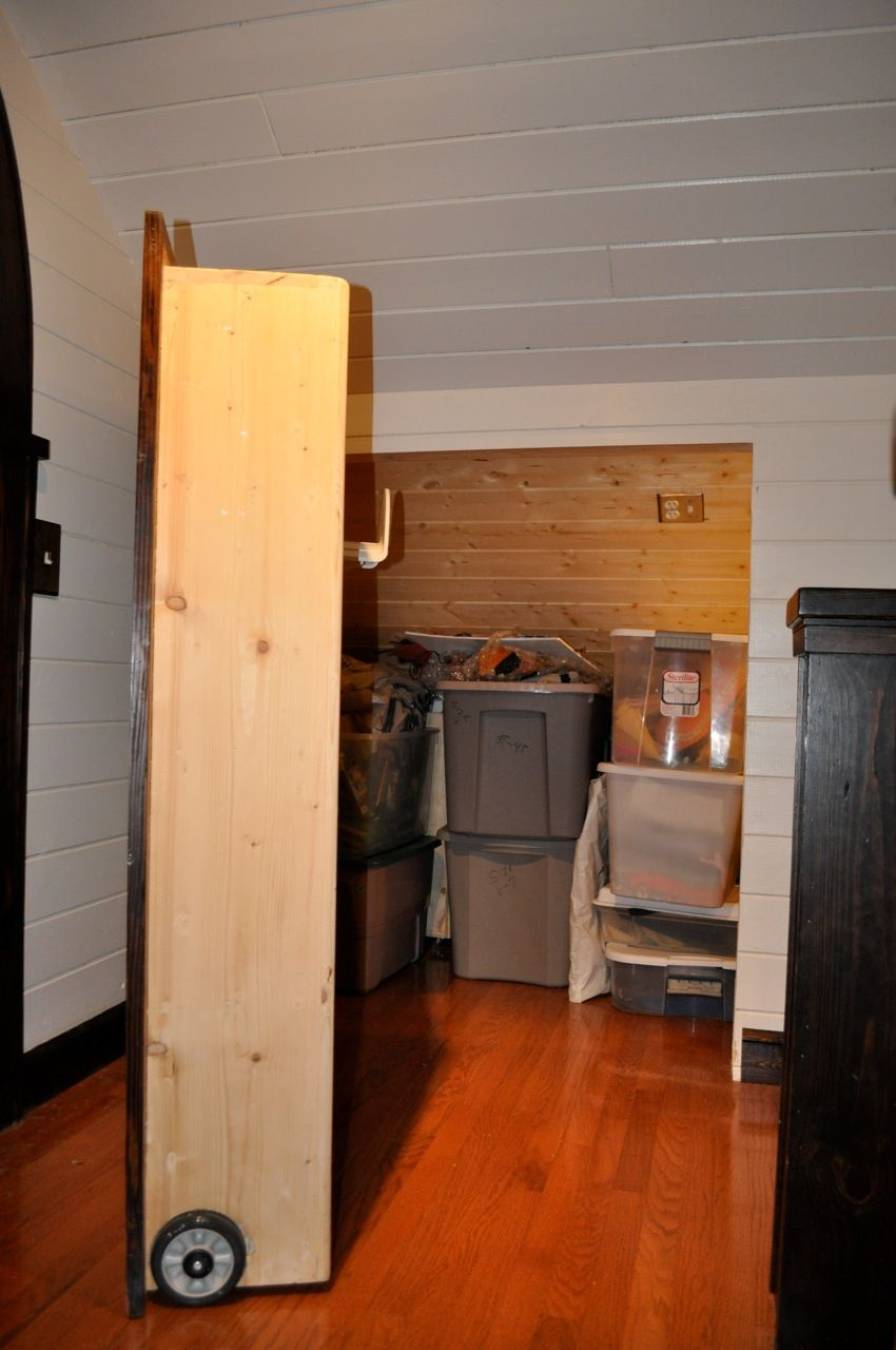 I Am Pretty Sure Could Hy If My Attic Remodel Included A Secret Door