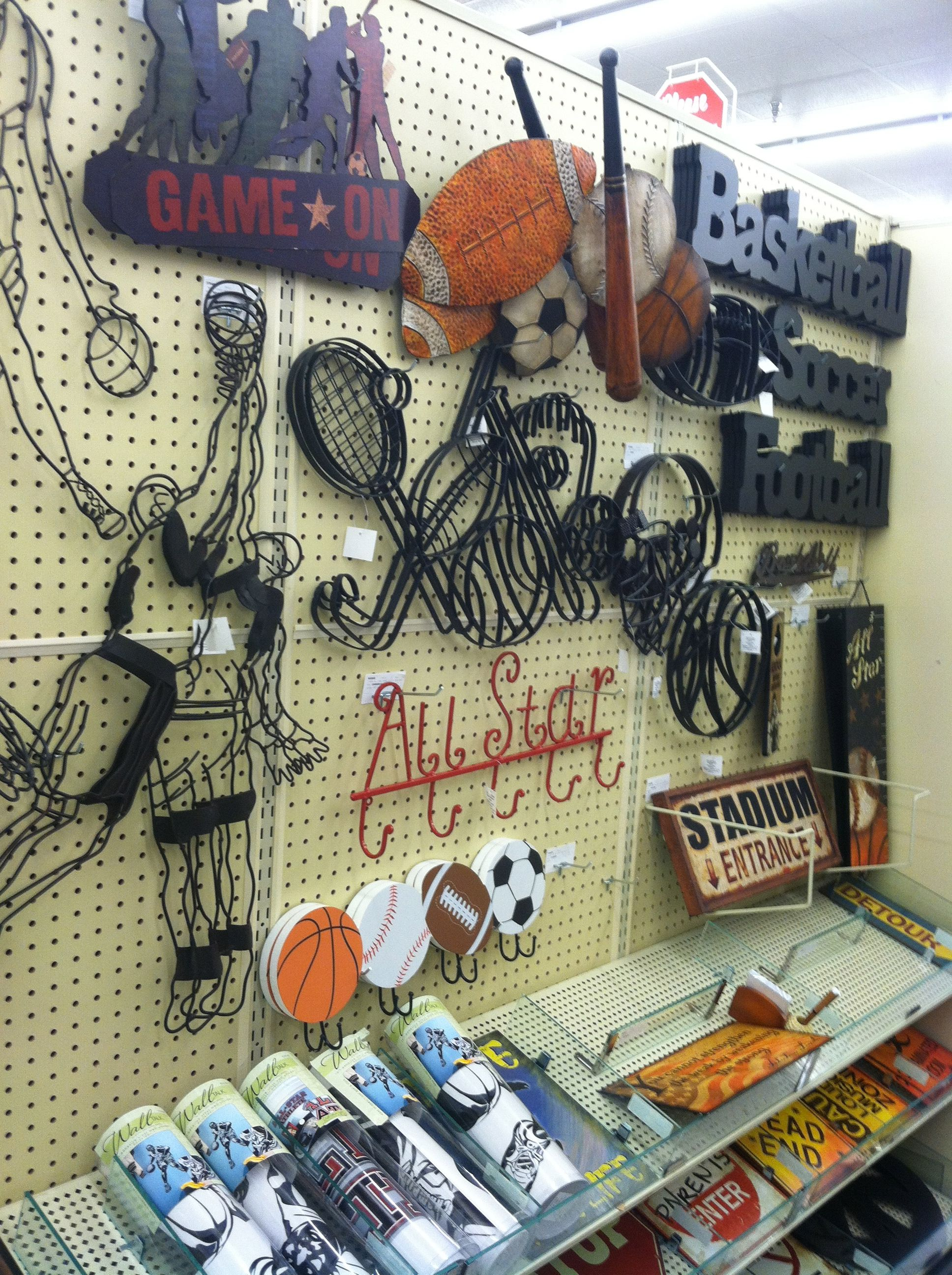 Sport Decor From Hobbylobby Went To