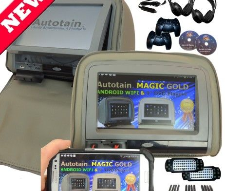 9 inch Headrest DVD Player HDMI Autotain Magic Bronze Grey. #headrestdvdplayer #familyhttp://www.headrestdvdplayer.org/product/9-inch-headrest-dvd-player-hdmi-autotain-magic-bronze-grey/