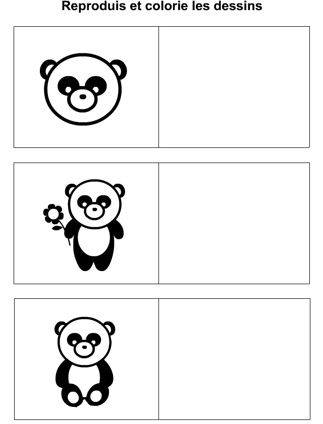 Comment dessiner un panda cole pinterest comment dessiner un panda comment dessiner et - Coloriage panda maternelle ...