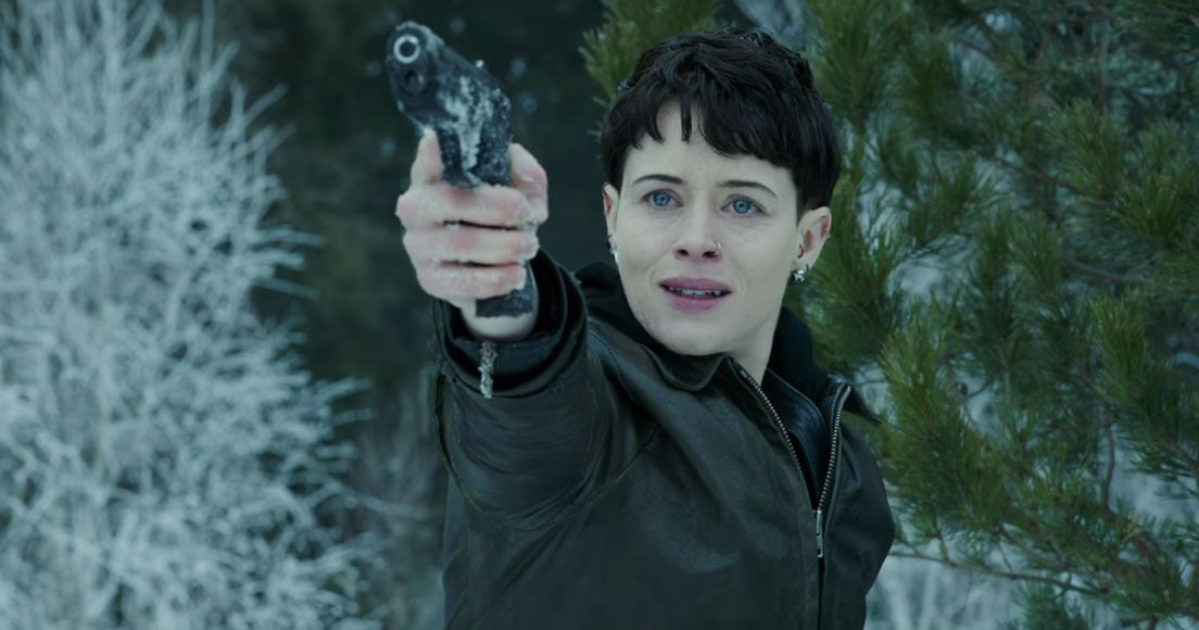 Girl In The Spider S Web Trailer Claire Foy Has The Dragon Tattoo