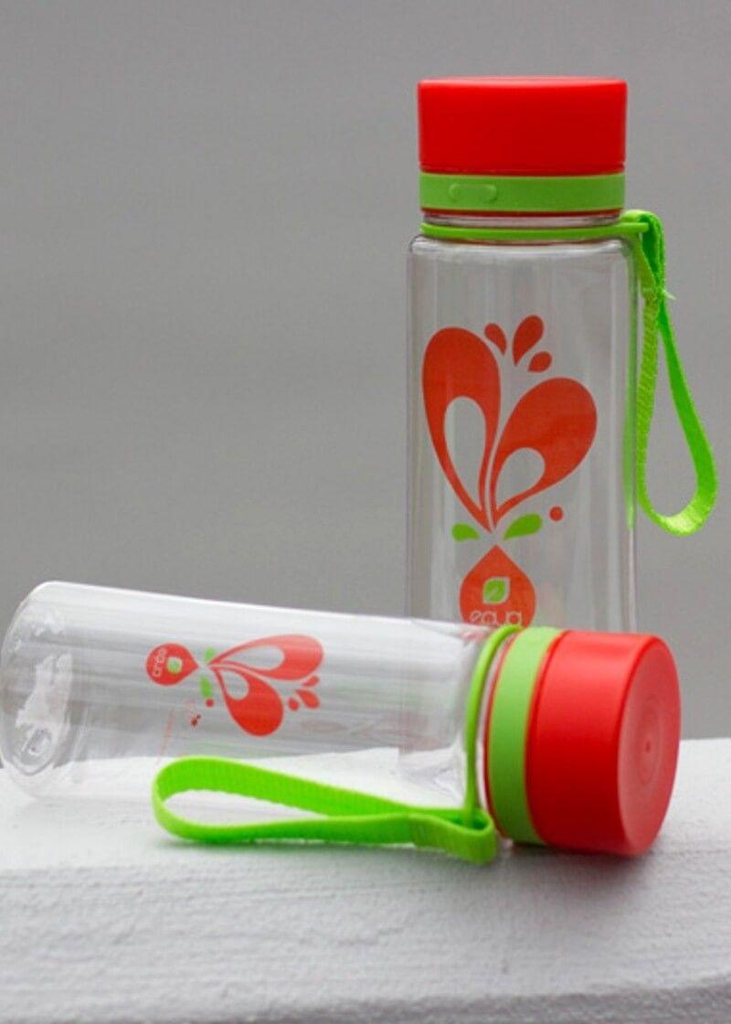 Zdravá fľaša Equa Heart 600ml - Equa fľaše 600ml - Tritánové zdravé fľaše - Eko fľaše | SolarBunny.eu