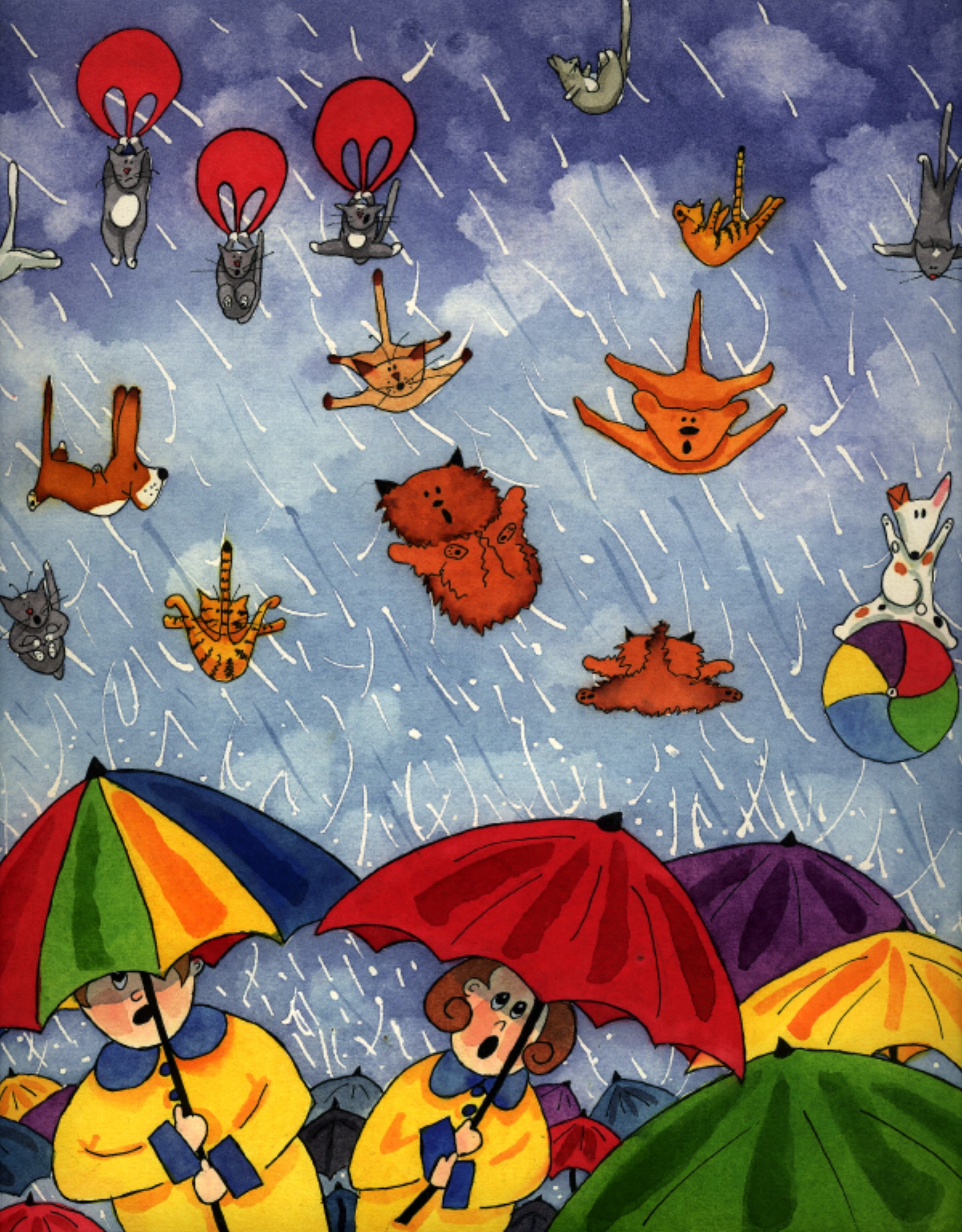 Why Do We Say Raining Cats And Dogs