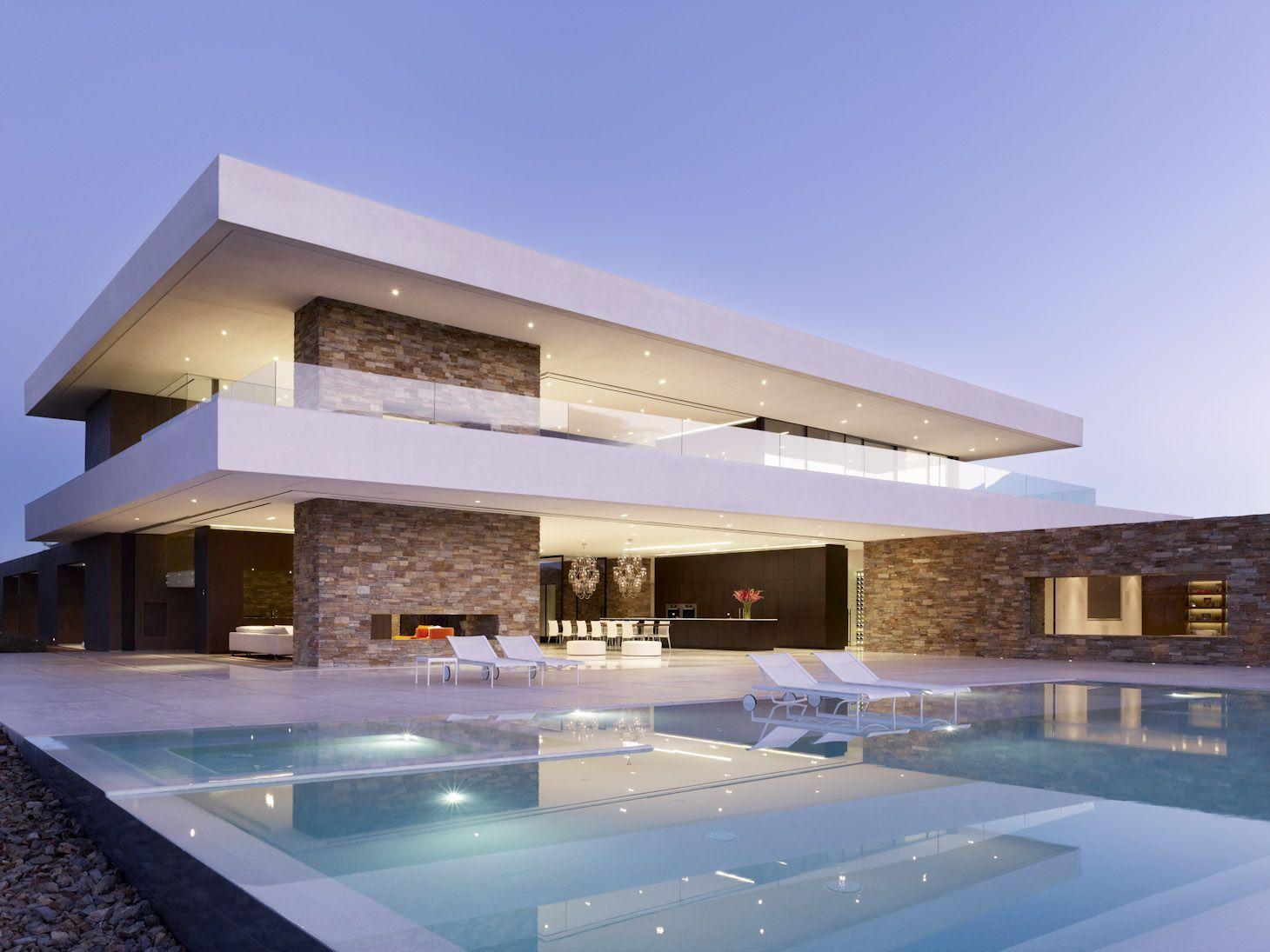 Casas modernas com piscinas board of directors for Piscinas modernas