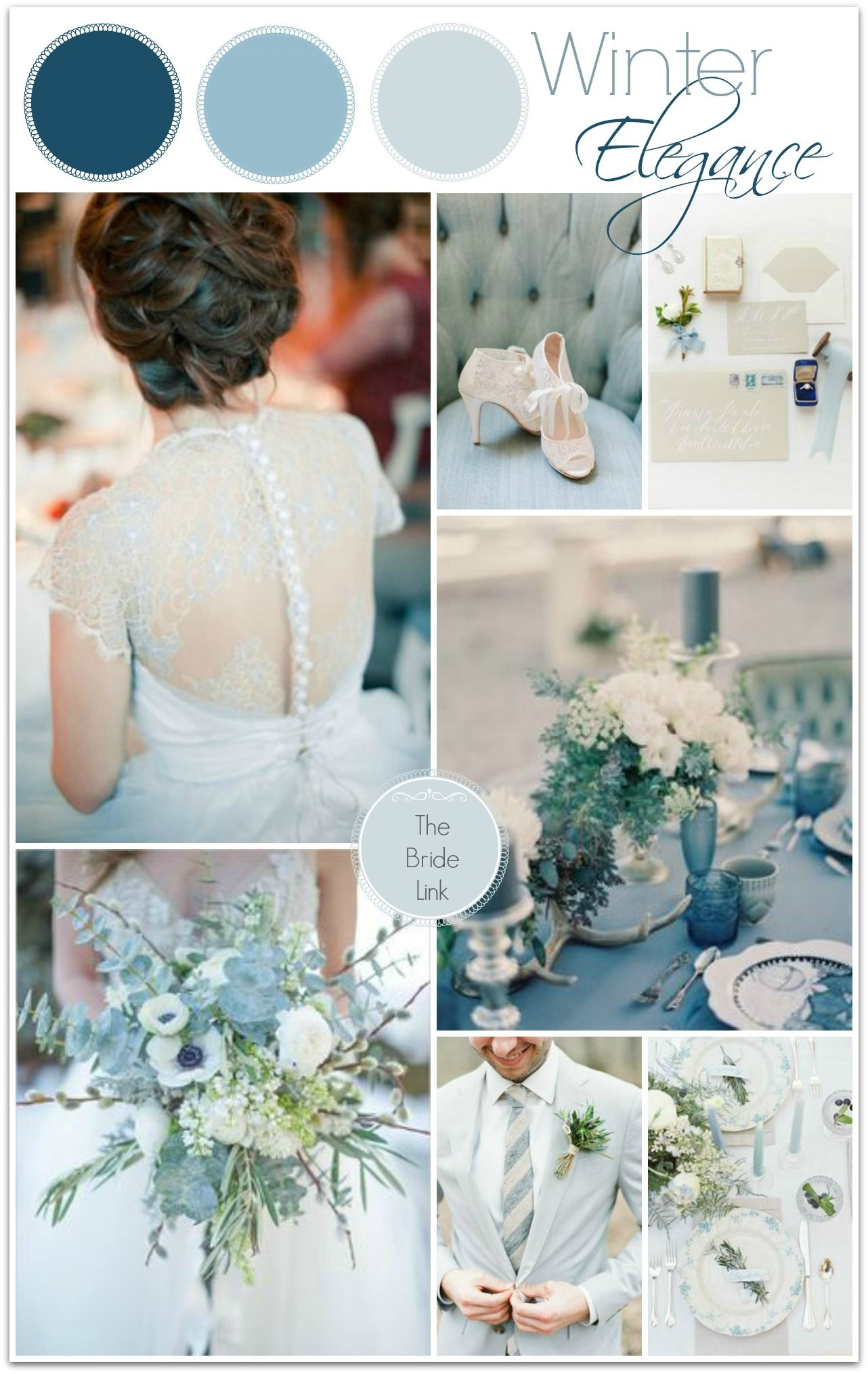 True Winter Colours Inspiration Board No Reason A Christmas Wedding Can T Be