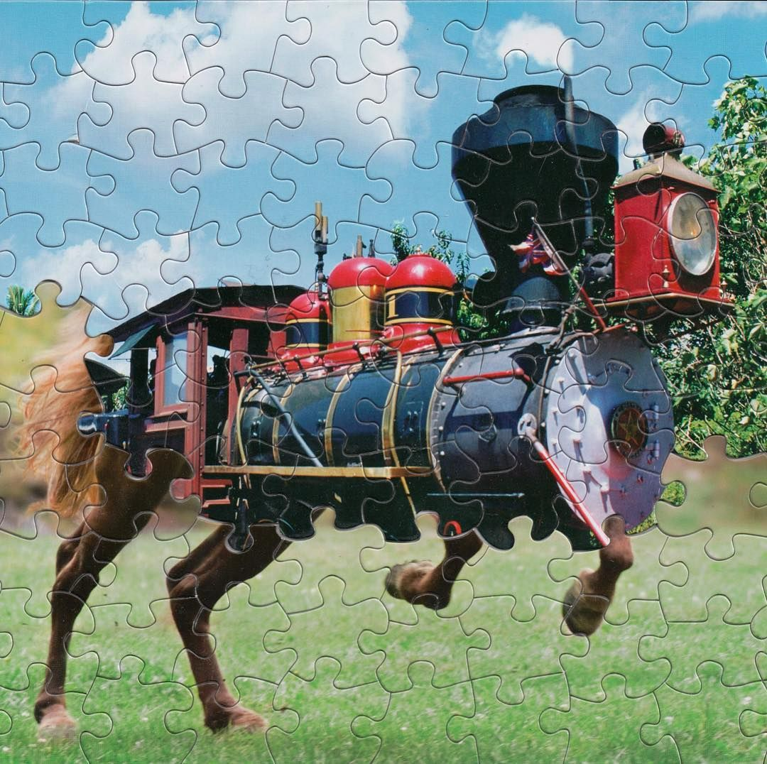 Colossal on instagram massproduced puzzles get all
