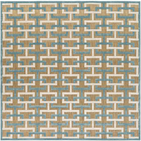Art Of Knot Felikes Area Rug Size 7 6 Inch Square Rugs