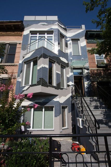 Climate Change Rowhouse, Long Island City, Queens, New