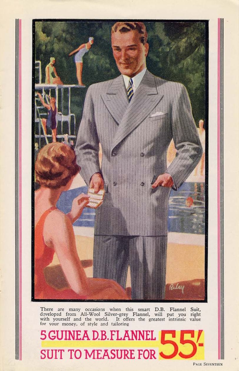 u k montague burton catalogue 1934 1930 39 s fashion. Black Bedroom Furniture Sets. Home Design Ideas