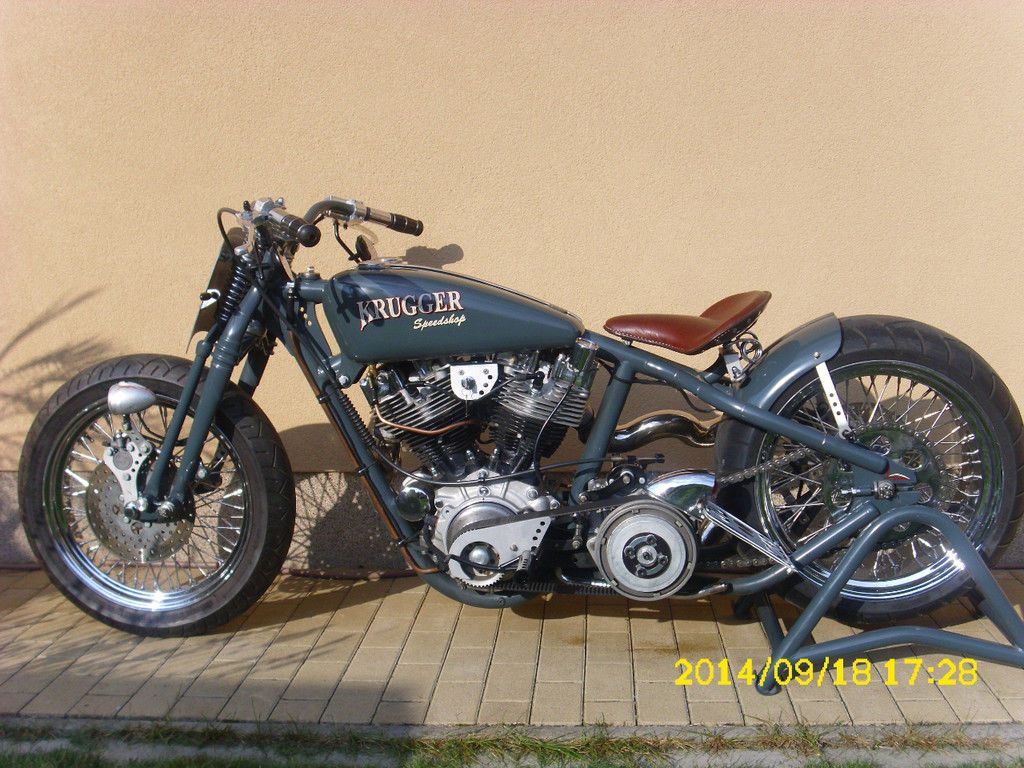 Harley davidson made by krugger amd weltmeister 2010 und 2014 as motorcycle