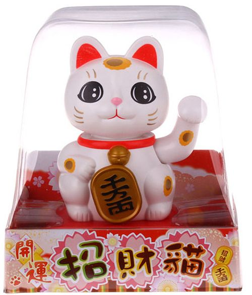 waving lucky chinese cat - Google Search