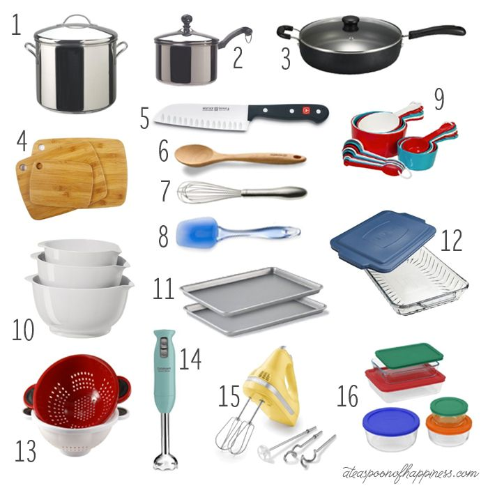 Kitchen Essentials All The Tools You Need To Get Cooking Kitchen Must Haves Kitchen Set Up Kitchen Equipment