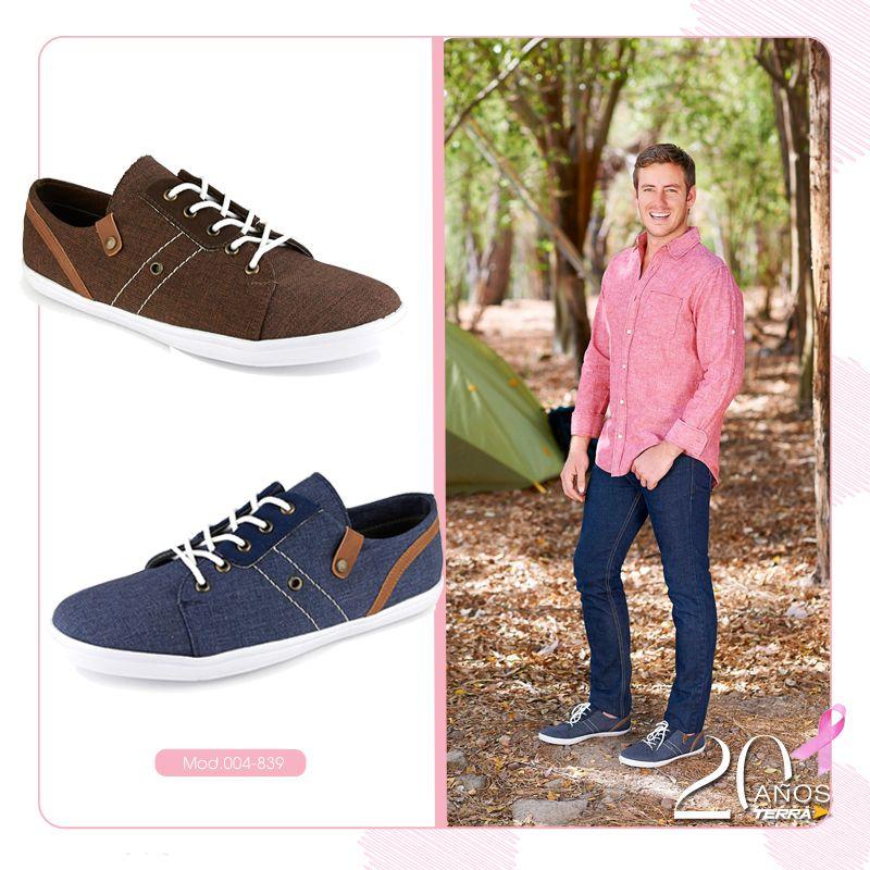 A ellos también les gusta la moda y para estar cómodos visita nuestra página www.mundoterra.com