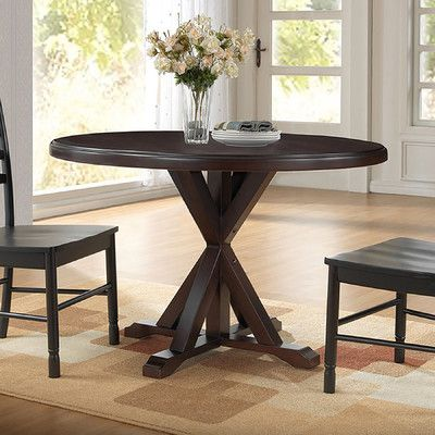 Found it at Wayfair - X Base Dining Table