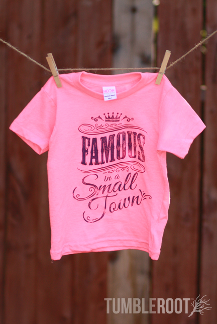 bc9dd157f Famous in a Small Town | Toddler Tee | Kids Country Apparel | TumbleRoot