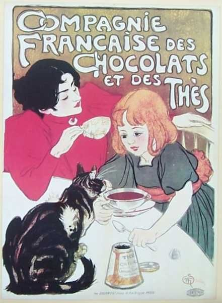 Veterinarian Vet Cheron Lady Cats and Dogs Paris Vintage Poster Repro FREE S//H