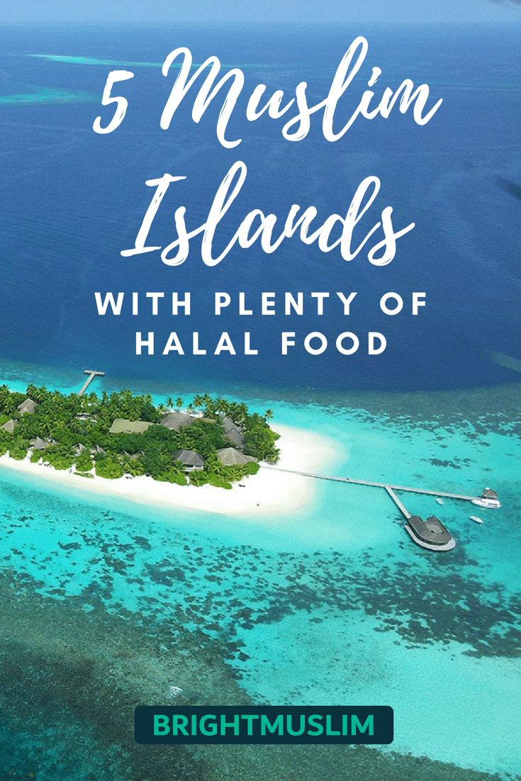 5 Muslim Paradise Islands With Plenty Of Halal Food You Should Totally Visit Brightmuslim Halal Recipes Paradise Island Halal