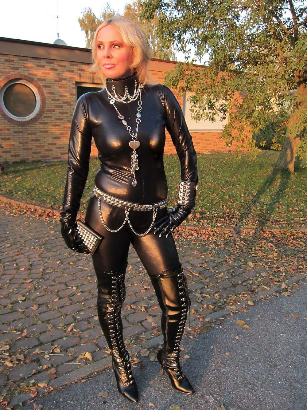Moms in latex