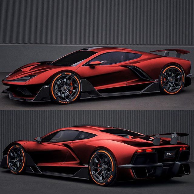 aria fxe hypercar  ud83d ude31                                        meet the american aria fxe hybrid