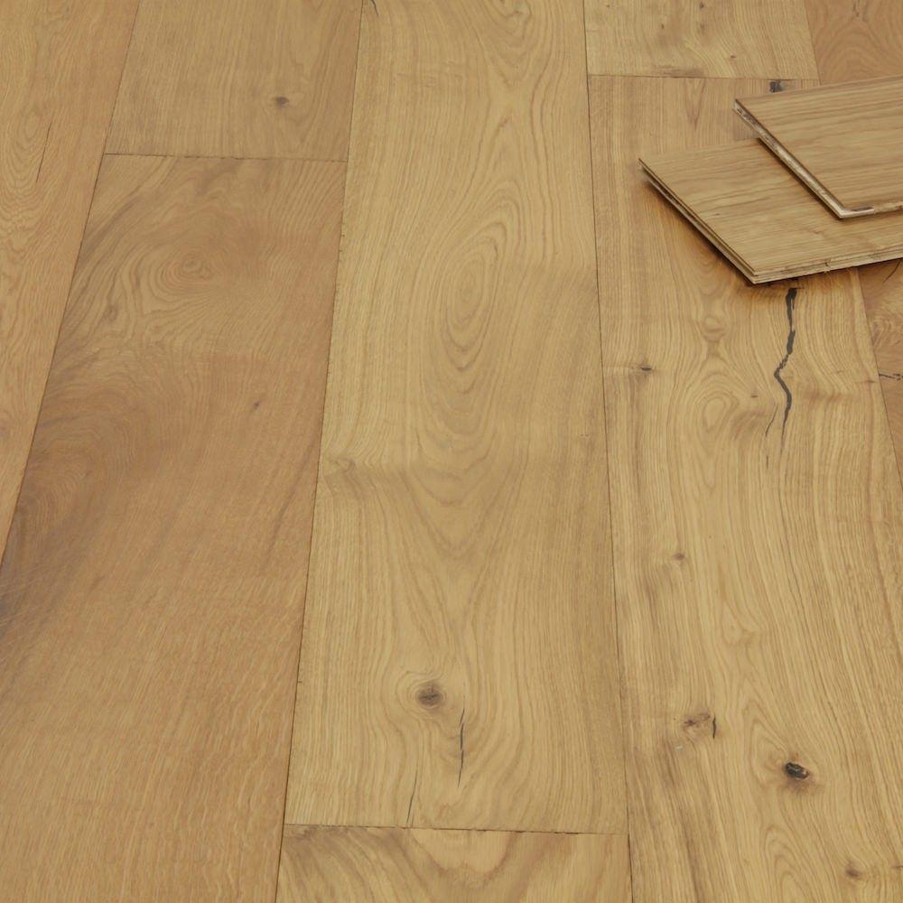 Rustic Farmhouse Oak Wide Brushed & Oiled Engineered Wood