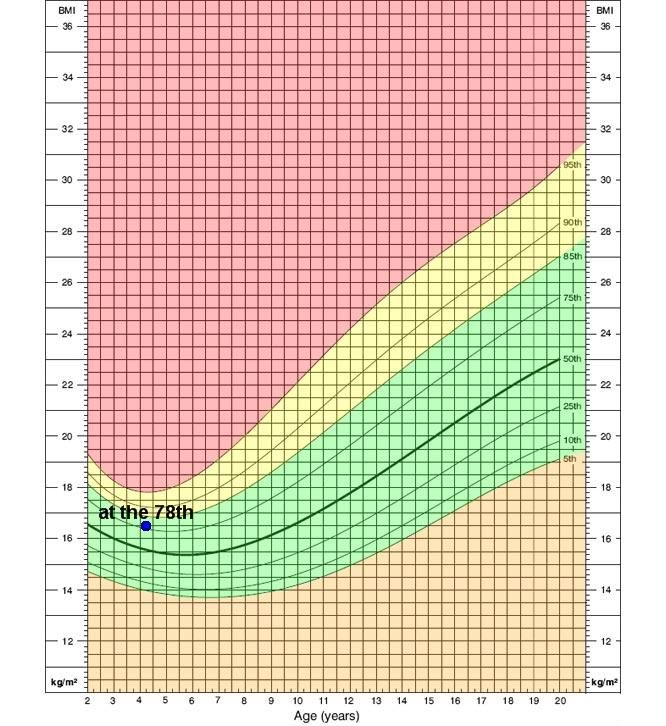 Growth Chart Of Bmi For Age Percentile For Boys 2 To 20 Years