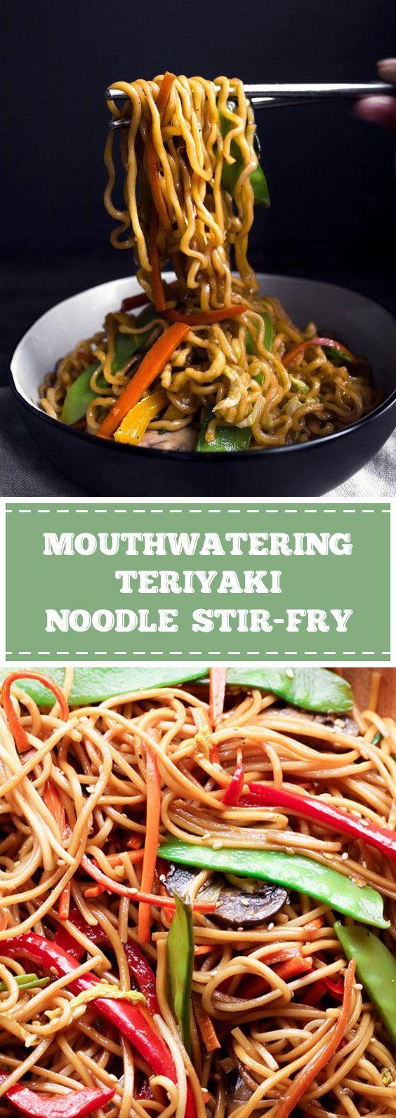 Mouthwatering Teriyaki Noodle Stir-Fry - goodrecipes.club