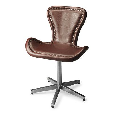 Enjoyable Brayden Studio Miceli Leather Desk Chair Products Forskolin Free Trial Chair Design Images Forskolin Free Trialorg
