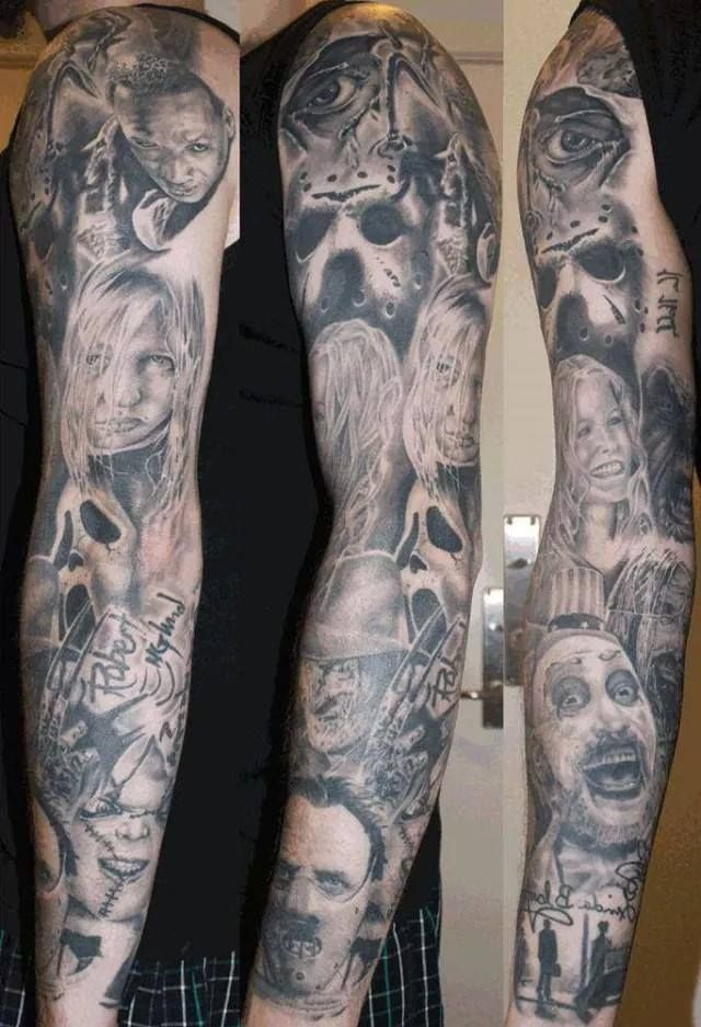 Legends Of Horror With Images Movie Tattoos Horror Movie