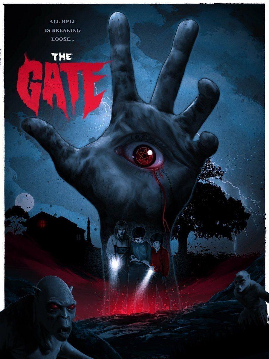 The Gate movie coverposter fan art find repin Cine de