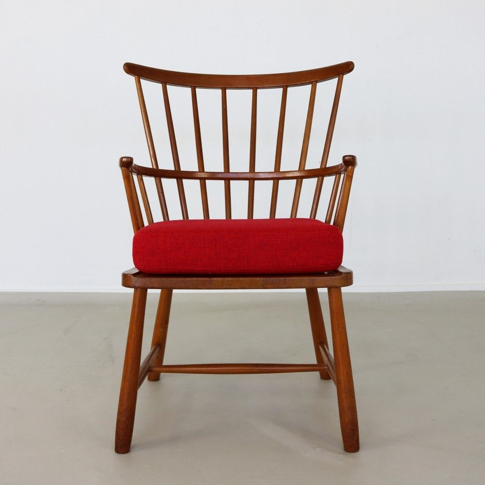 Windsor 1638 Arm Chair From The Sixties By Ove Boldt For Fritz  # Muebles Sixties