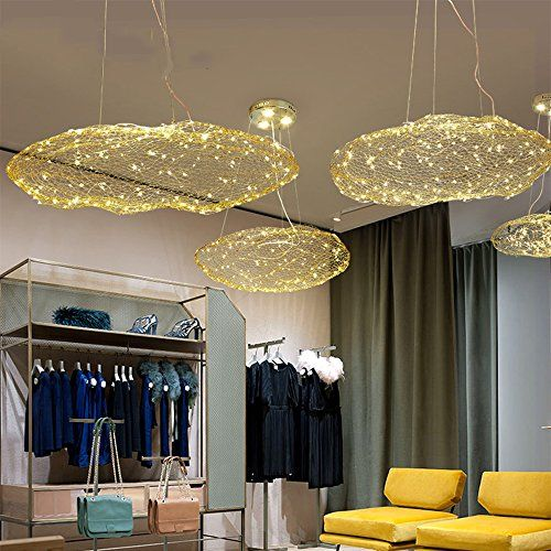 Injuicy Lighting Modern Metal Led Clouds Pendant Hanging Lights Shades Dining Room Ceiling Lamps Ceiling Lamp Dining Room Hanging Pendant Lights Lamps Fixtures