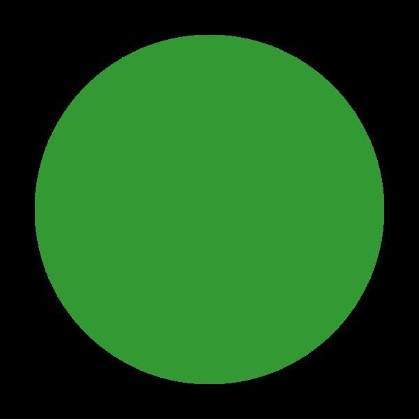6th Of August Circle Green Circle Green Dot