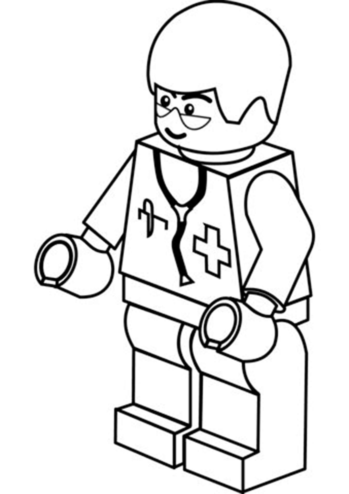 Free Easy To Print Lego Coloring Pages Lego Coloring Lego Coloring Pages Lego Movie Coloring Pages