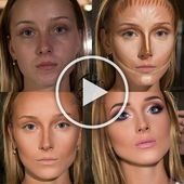 Photo of Before and after make up natural;make up glitter;make up catrina;make up inspo;m…