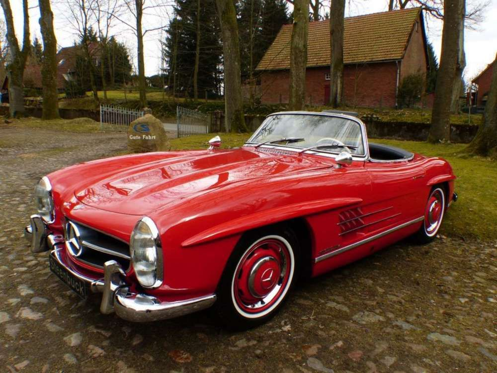 1958 Mercedes Benz 300 Sl Roadster Restaurated Classic Cabriolet