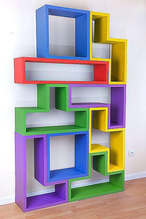 Tetris muebles en 2019 - Estanterias infantiles online ...