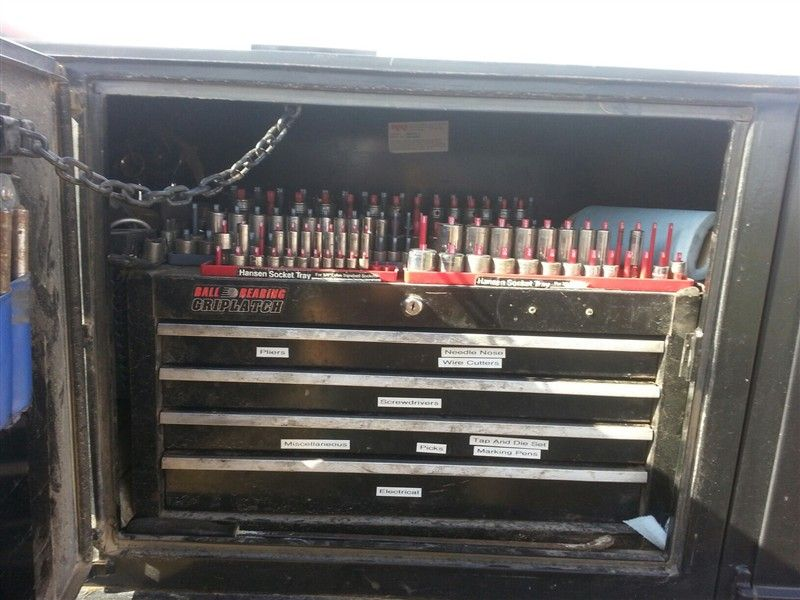 Viewing A Thread Looking At Tool Bo For Service Truck Trucks Truck Tools Tool Drawers