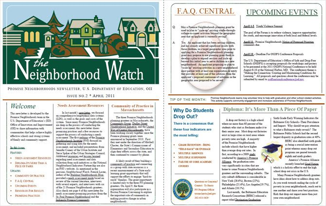 Free Newsletter Templates You Can Print Or Email As PDF - Free neighborhood newsletter templates