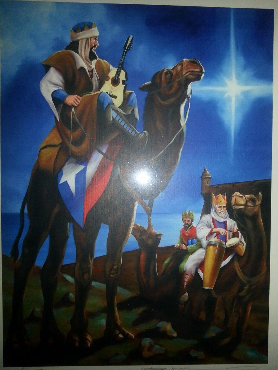 Tres Reyes Magos | Tradición Boricua Los 3 Reyes Magos ...