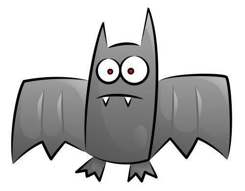 bat drawings sketching vector - Bat Cartoon