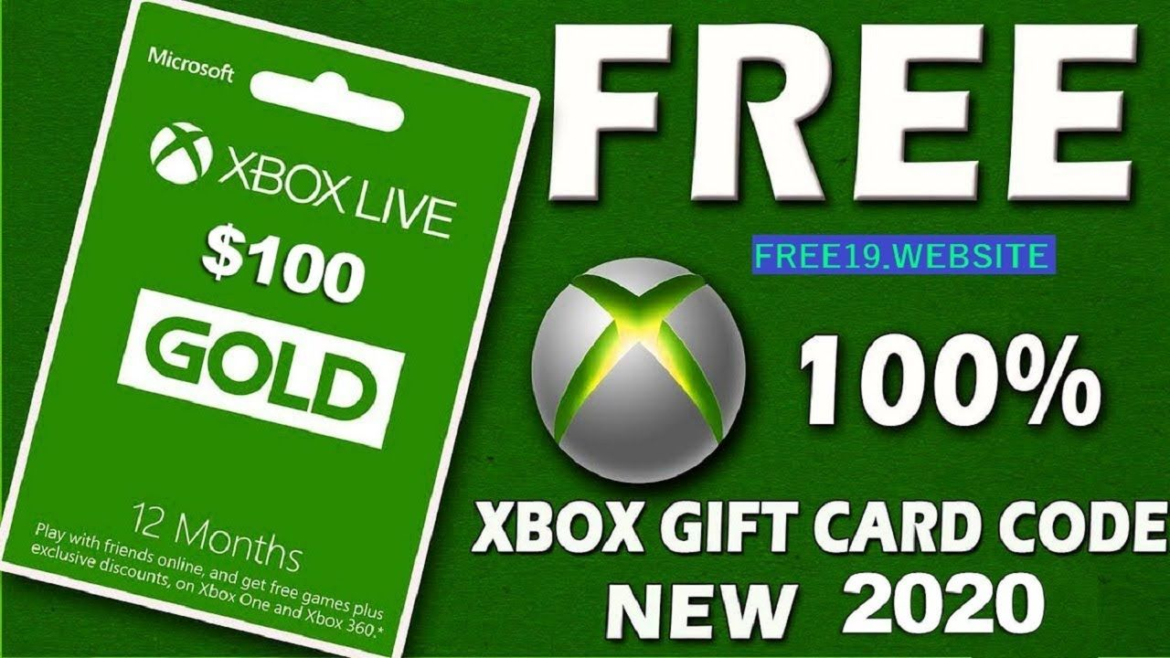 FREE XBOX GIFT CARDS XBOX CARD GIVEAWAY 2020 in 2020