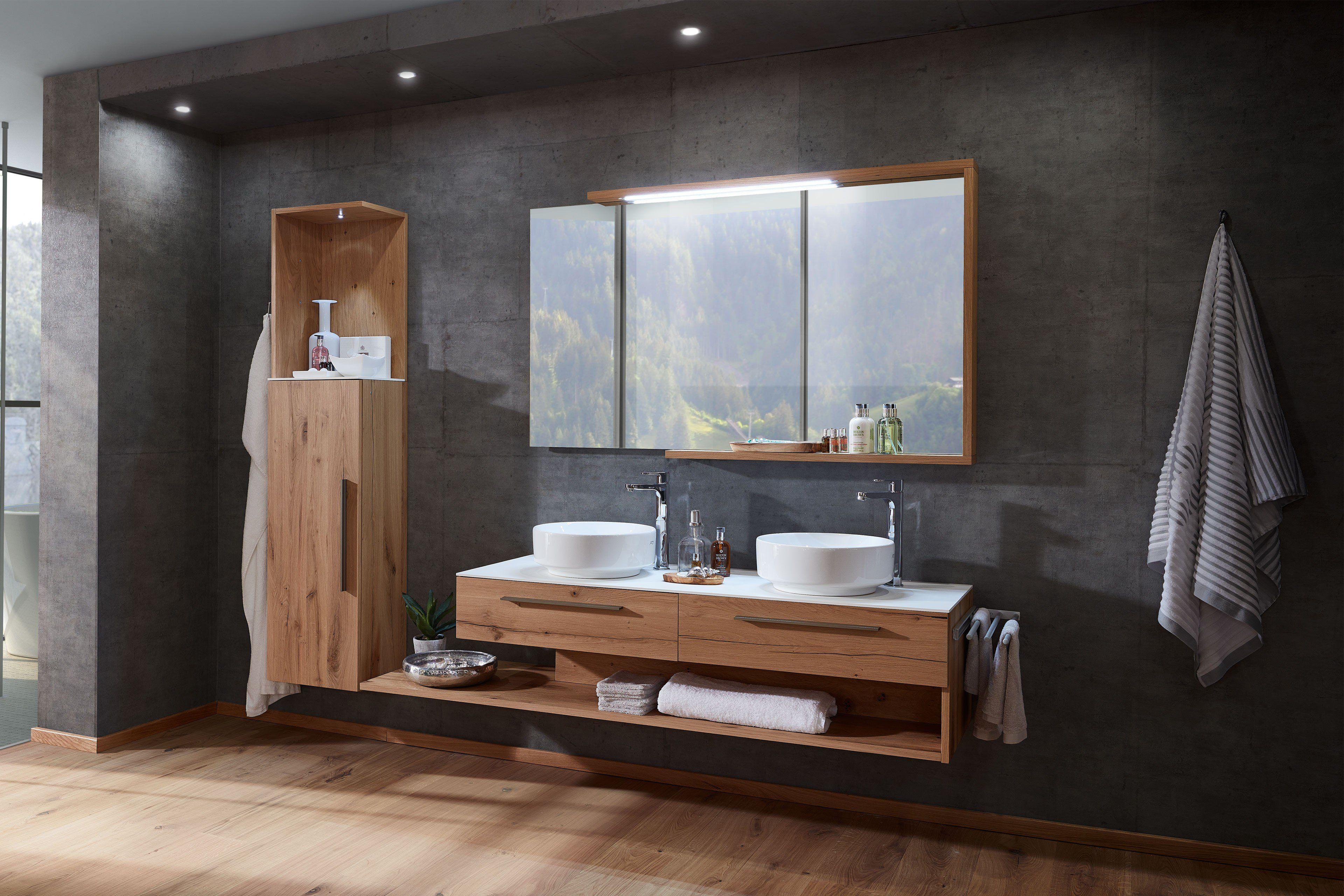 Schroder Mobel Kitzalm Alpenflair Badezimmer In Alteiche Natur Mobel Letz Ihr Online Shop Alte Eiche Badezimmer Badezimmer Set