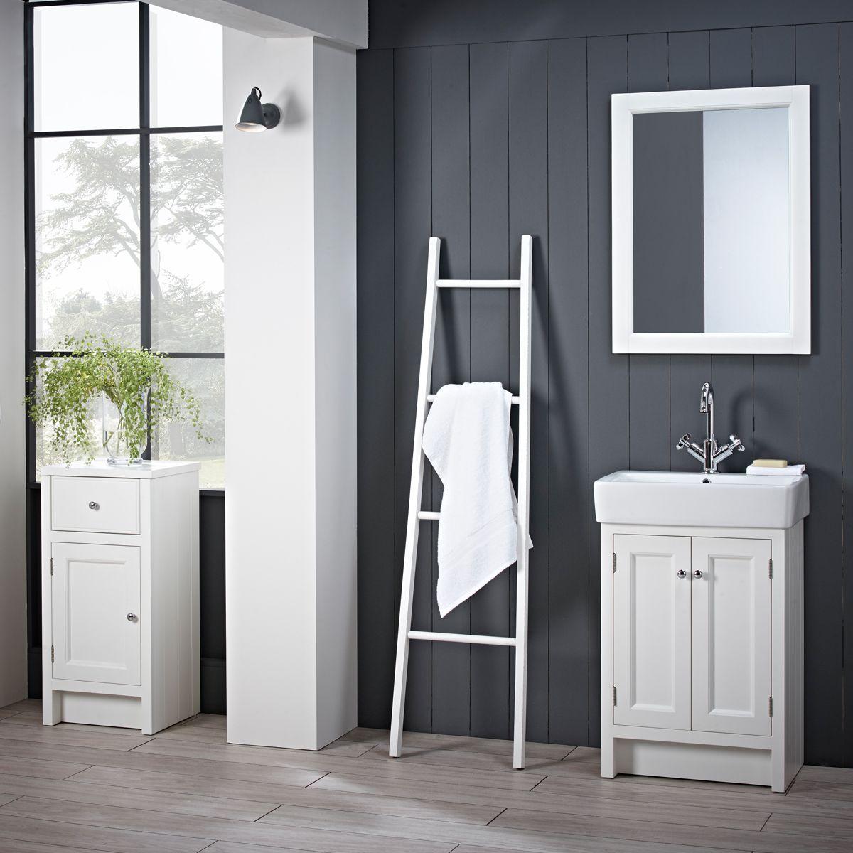 Roper Rhodes Hampton Chalk White Bathroom